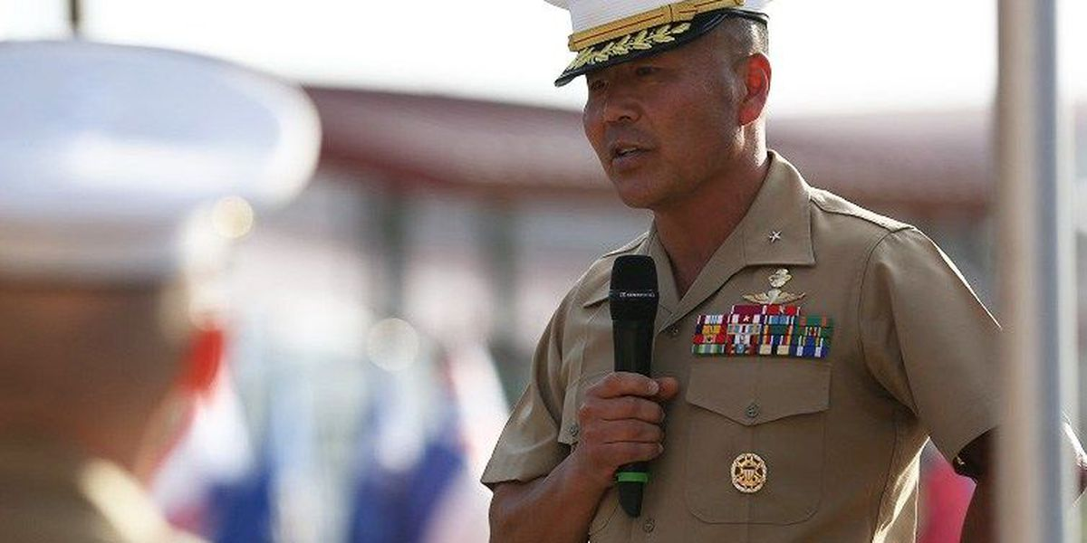 USMC's first Korean-American general takes over Pacific SOCOM post