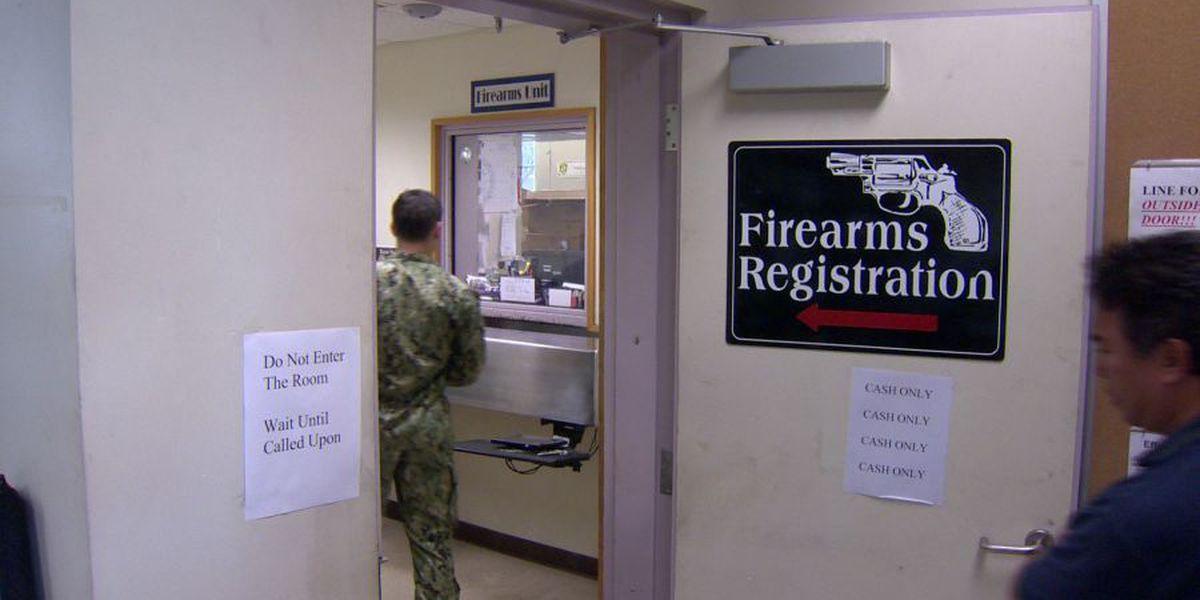 Number of registered firearms in HI increase as more people seek permits