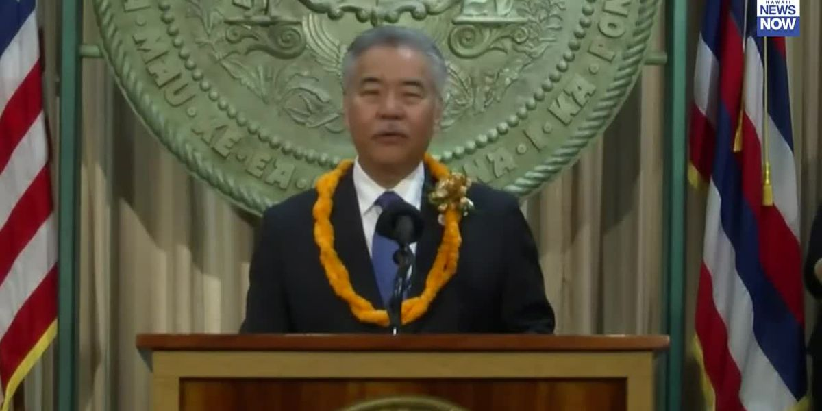 Governor Ige says state revenues may not recover to pre-pandemic levels until 2024