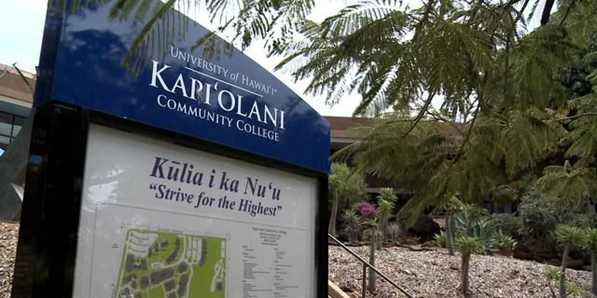 Search for new chancellor of Kapiolani Community College begins