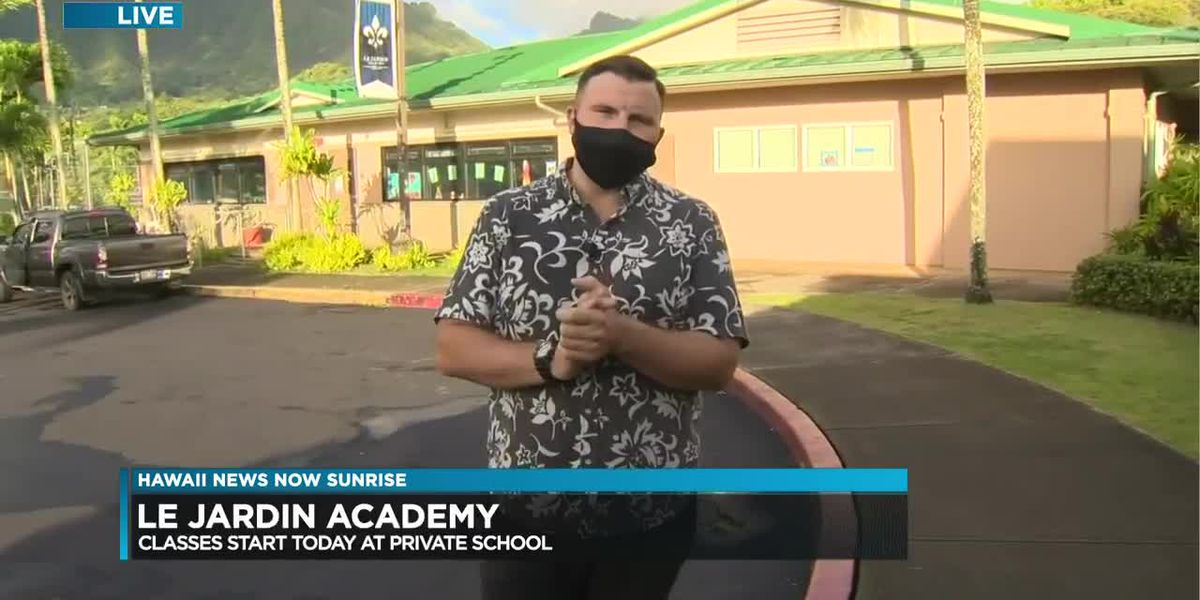 Another Oahu private school welcomes students back with new safety protocols