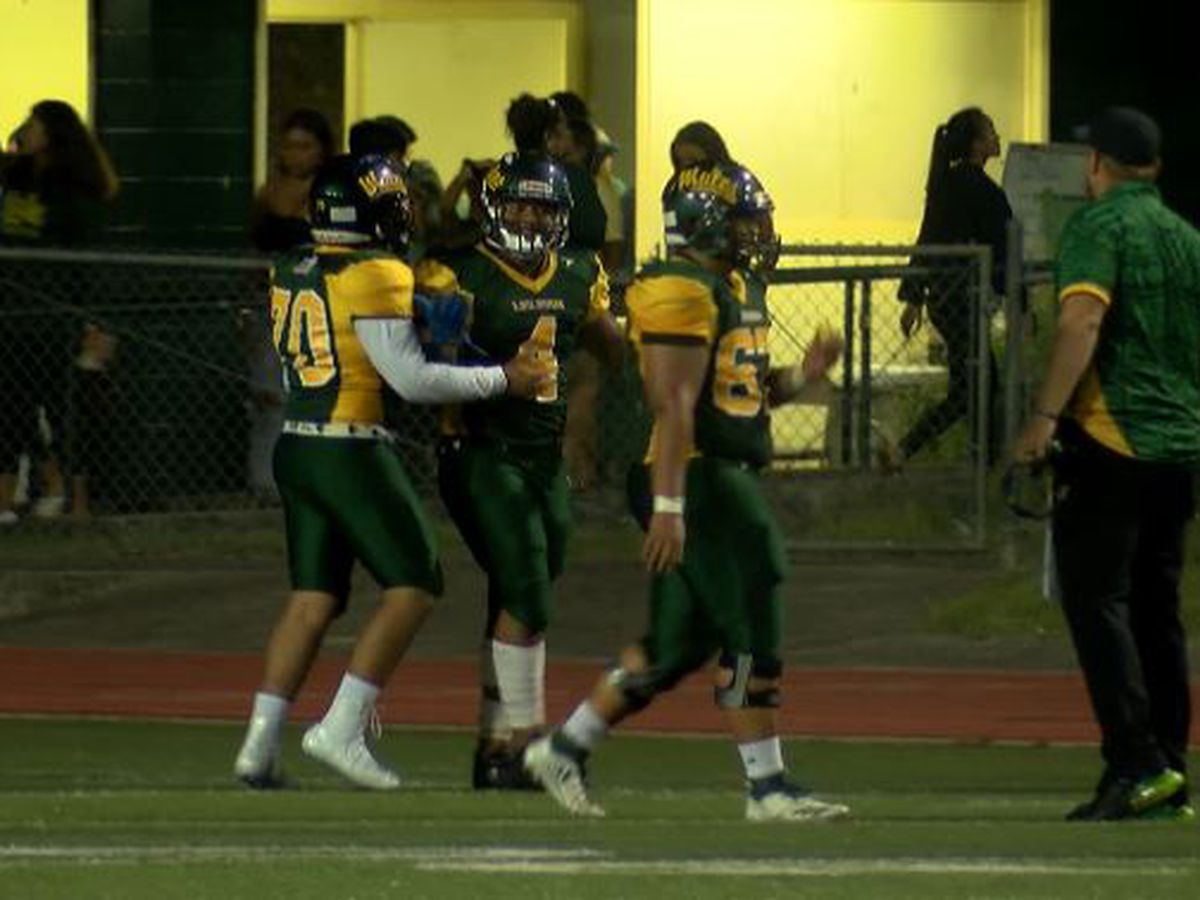 Baldwin hosts Leilehua in first round of football state tournament