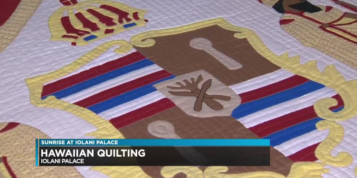 Quilting has been an art form seen in Hawaii for generations