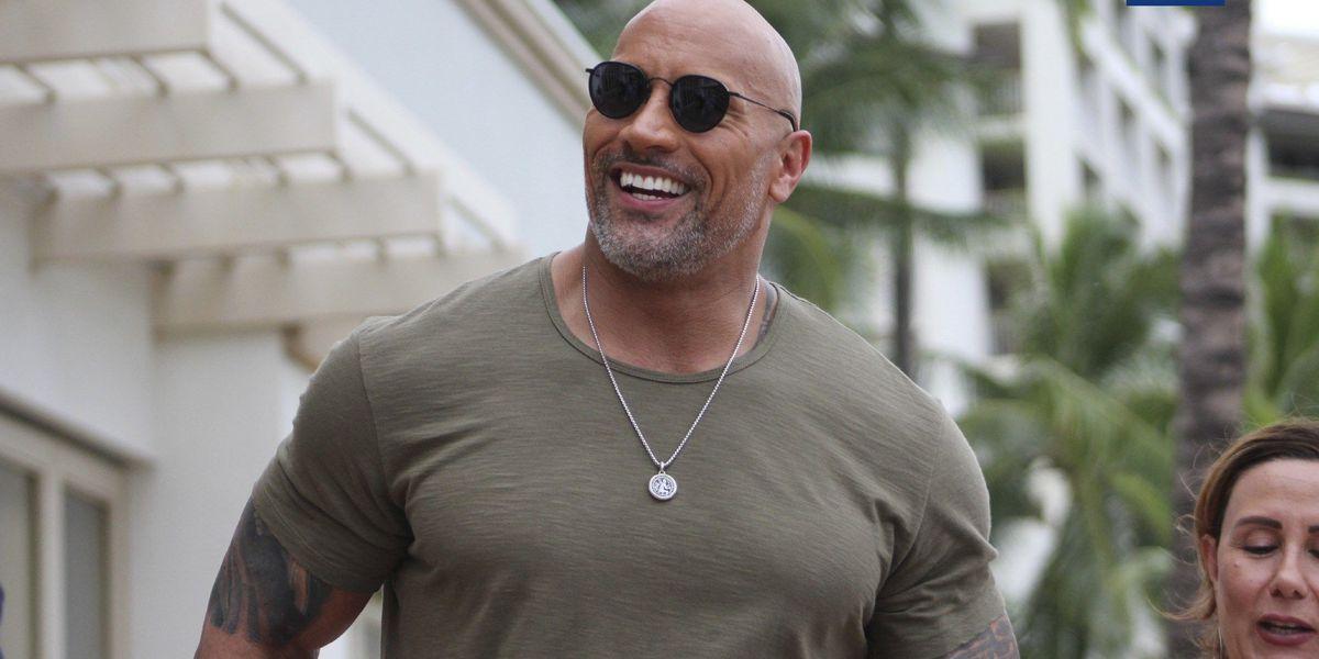 PHOTOS: 'The Rock' alongside star-studded cast of Jumanji in Hawaii