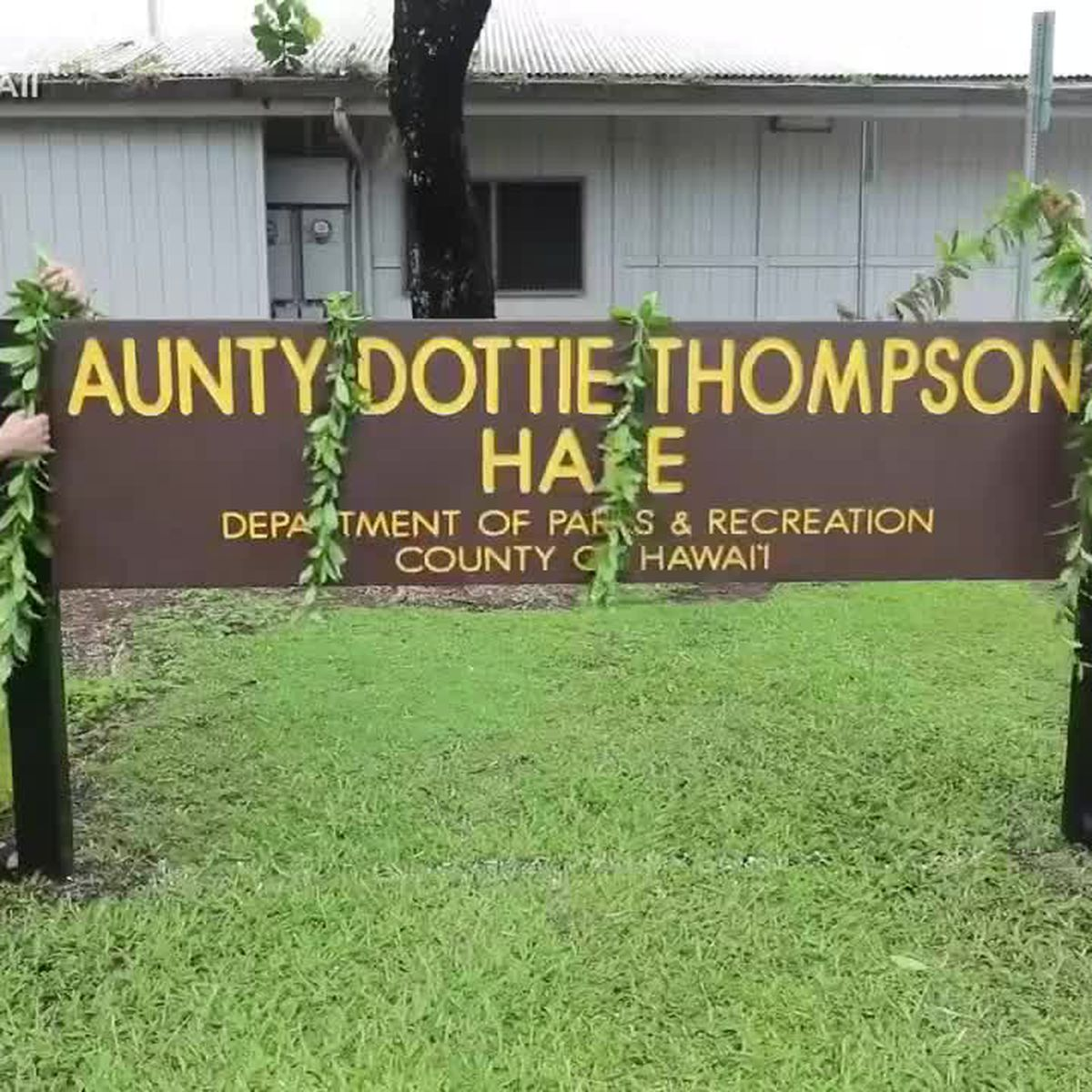 Hilo has a new honor for the woman credited with saving the Merrie Monarch Festival decades ago