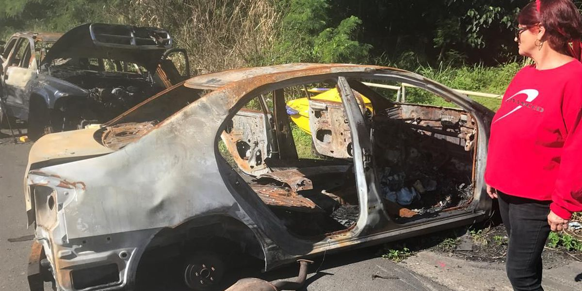 In Kahaluu, dumped cars beget dumped cars (and the occasional Jet Ski)