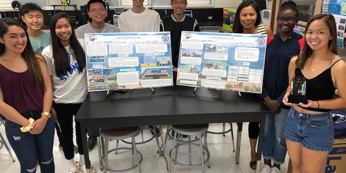 Moanalua High team recognized for innovative design in national competition