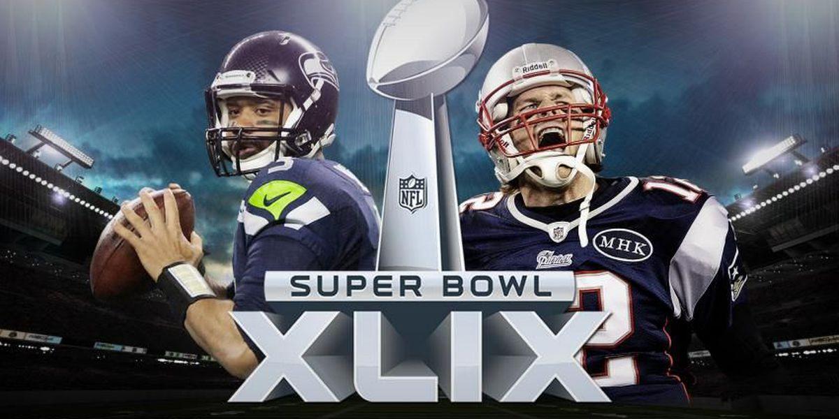 Seahawks, Patriots tied at halftime of Super Bowl XLIX