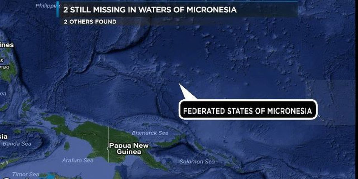 1 dead, 1 alive, 2 missing after Pacific Ocean boat incident