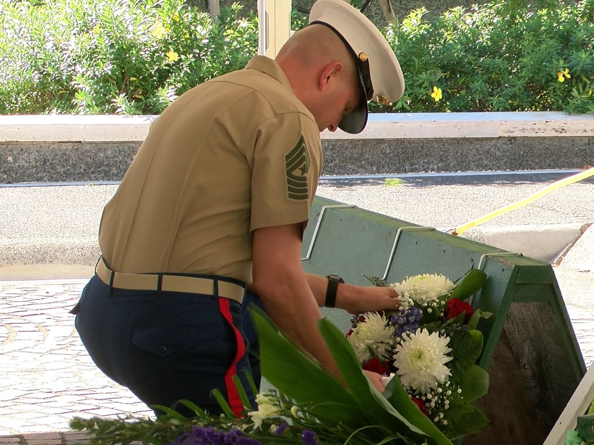 Special ceremony commemorates 75th anniversary of the Battle of Tarawa