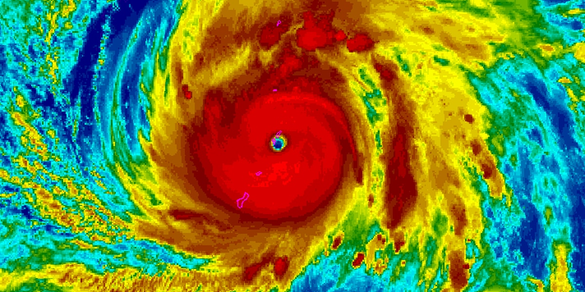 Satellite images of Super Typhoon Yutu are downright terrifying