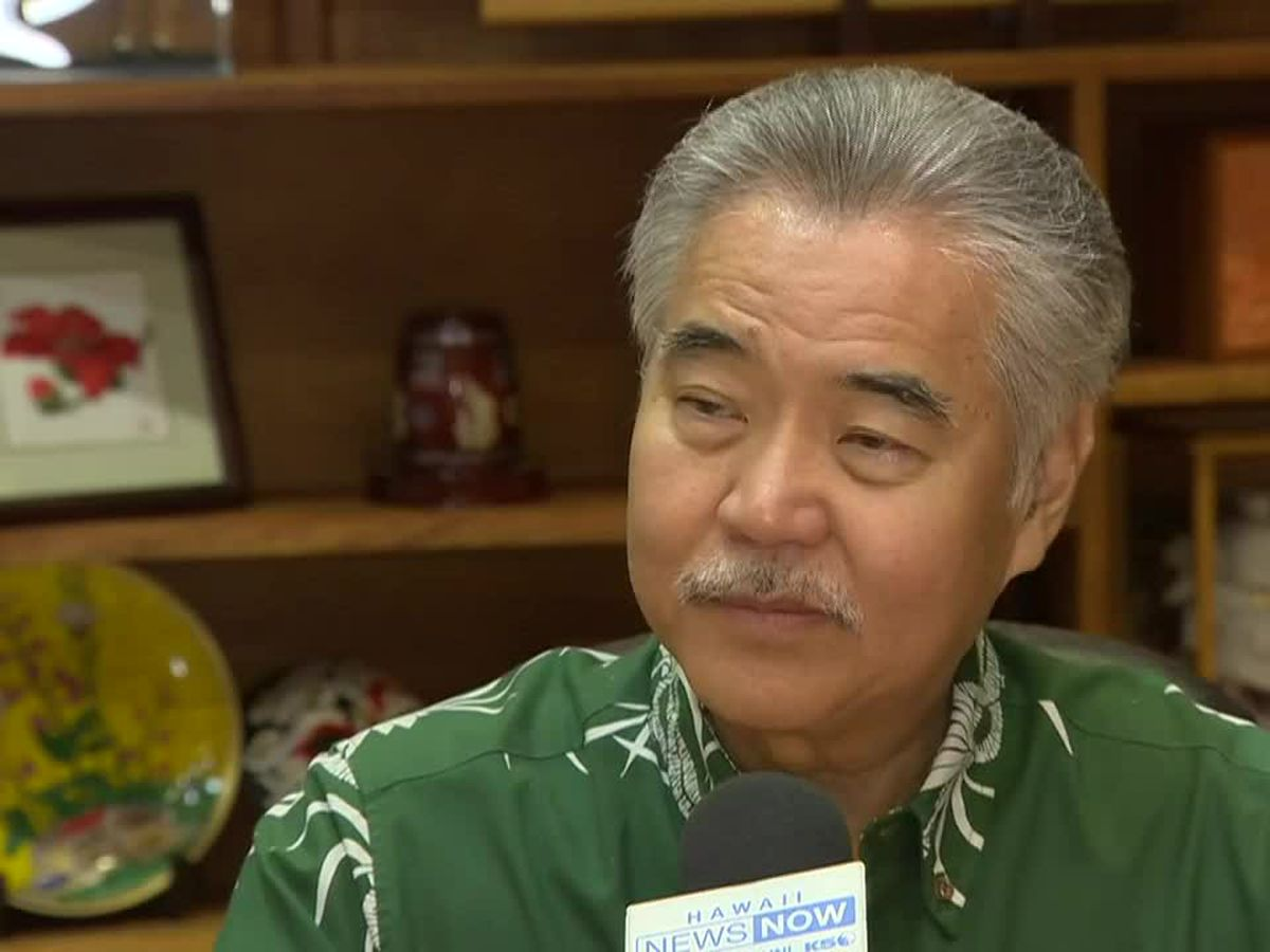 Governor declines to set a date for reopening Hawaii tourism