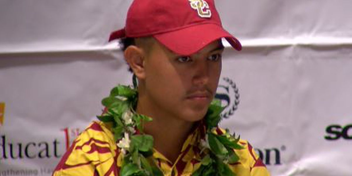 Makaula's recruiting journey had its twist and turns, but he found the right fit at USC