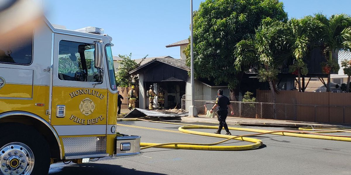 Police: Man accused of setting own house on fire told witness it was 'insured' as he fled scene