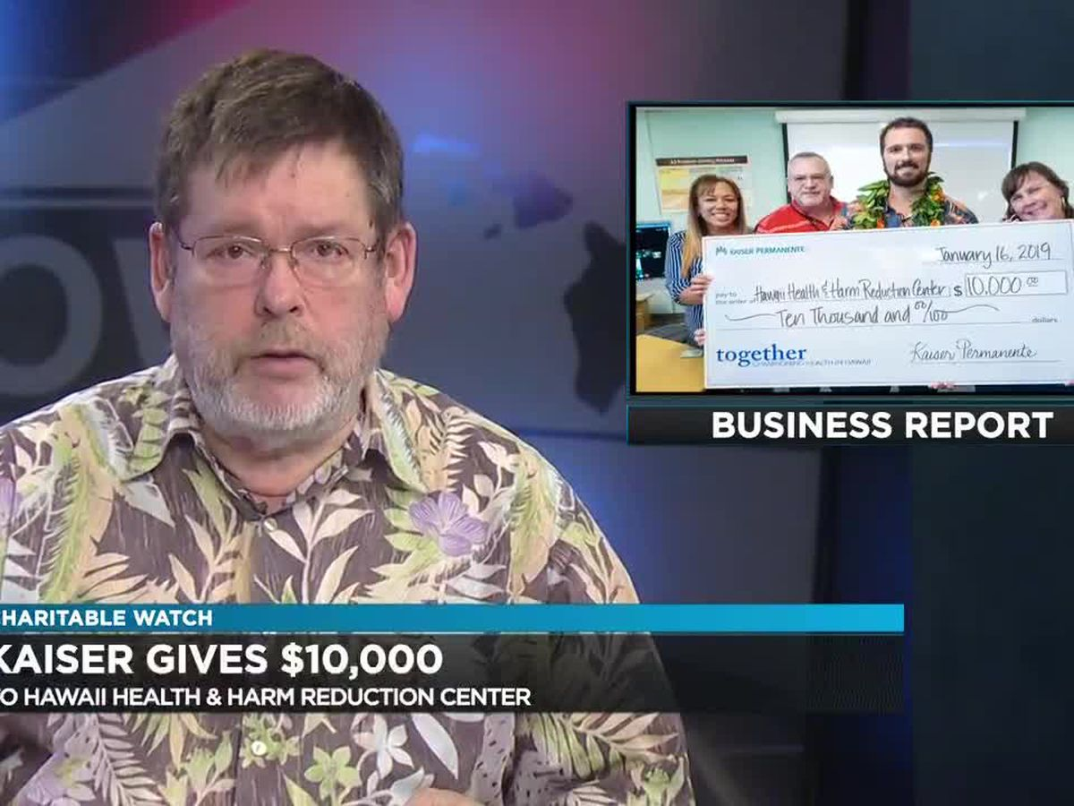 Business Report: Kaiser donation, Fairmont Kea Lani aid, Hospice of Kona tournament