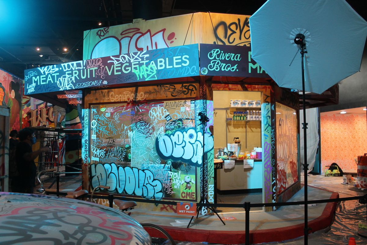 New Bishop Museum exhibit immerses visitors in vibrant street art experience