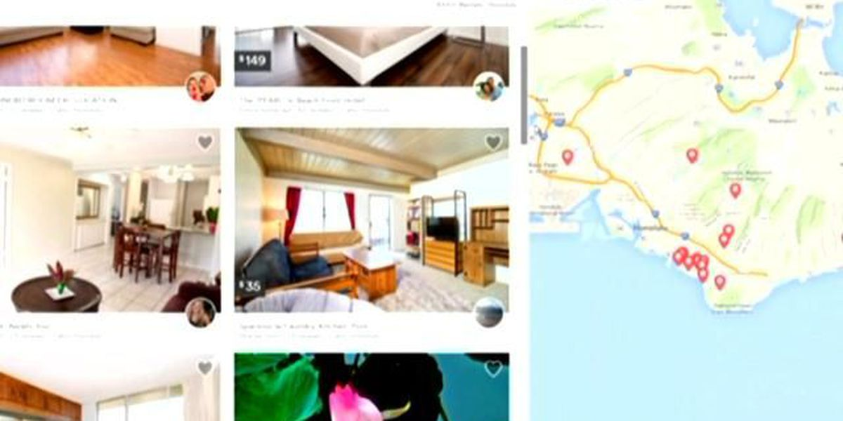 Hawaii moves to crack down on campsite rentals on Airbnb