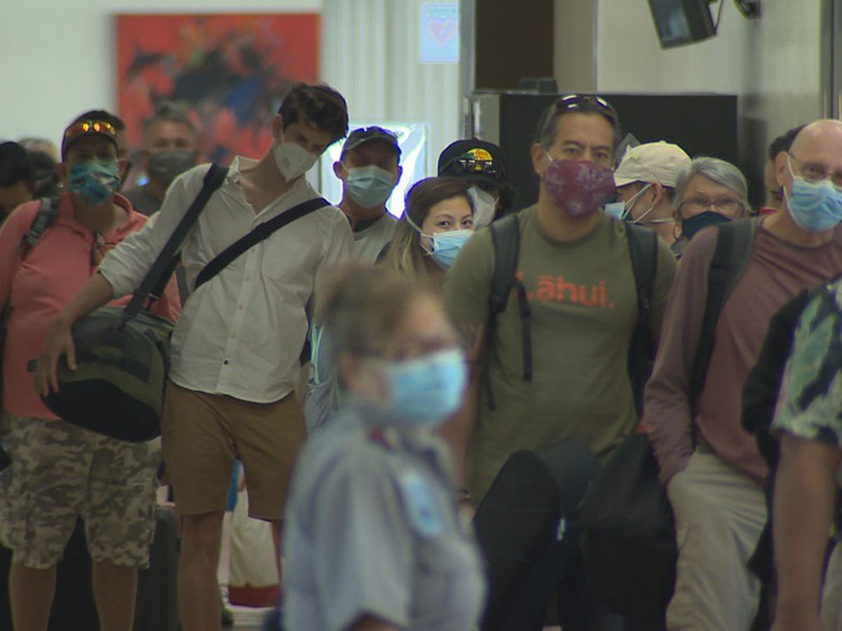 Hawaii sees steady number of arrivals on first weekend of traveler testing program