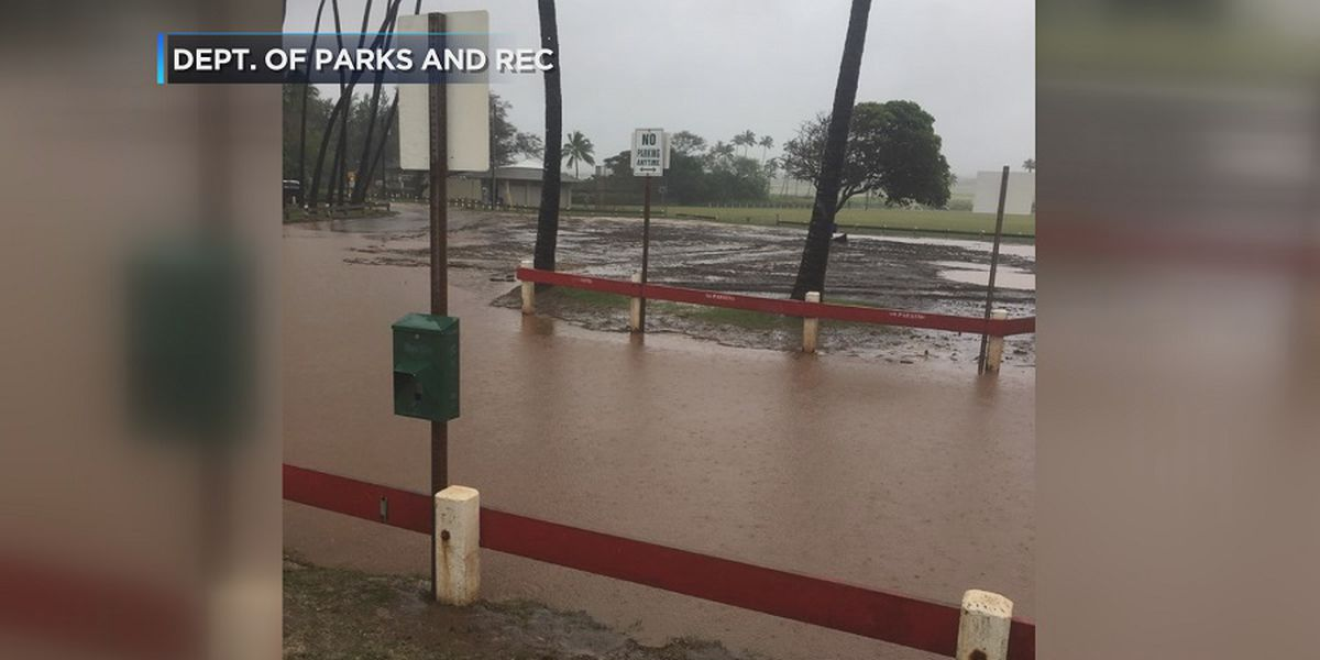 Crews on Maui still cleaning up mess left behind by drenching rains