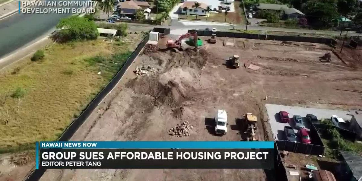 Maili residents file lawsuit against the city and developer trying to stop an affordable housing project