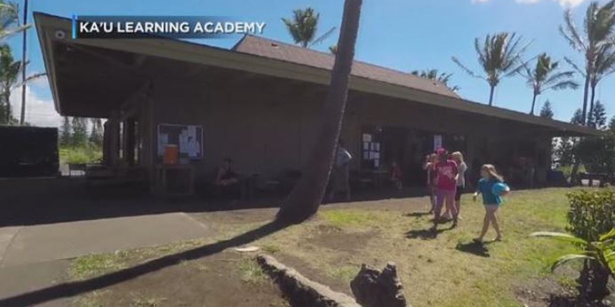 State commission revokes Ka'u Learning Academy's charter amid criminal investigations