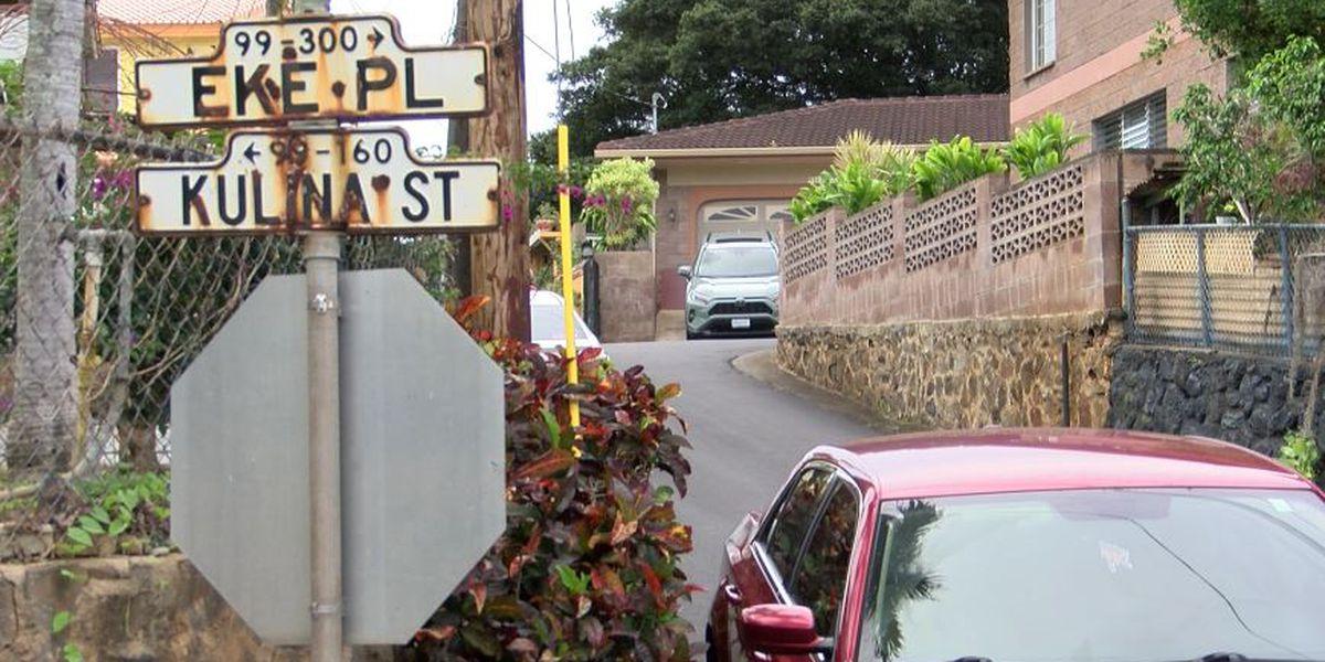 Fatal shooting rattles Aiea neighborhood; suspects sought