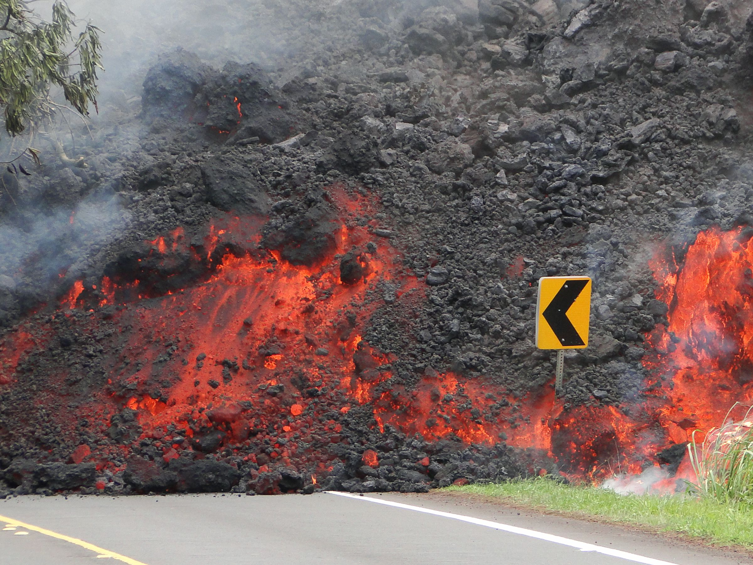 Threat level at Kilauea lowered again, signaling the end of an eruptive era