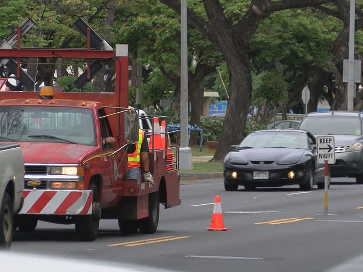 City makes major changes to PM contraflow on Kapiolani to ease traffic