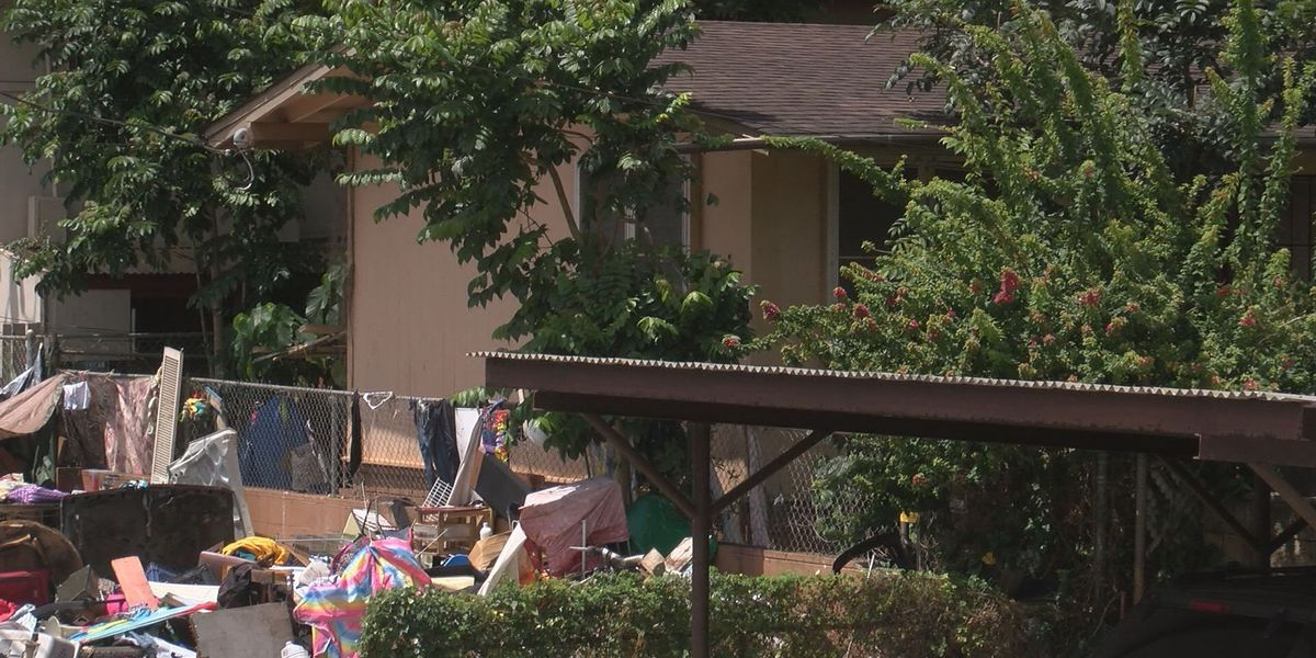Police crack down on Wahiawa homeless camp that doubled as drug den