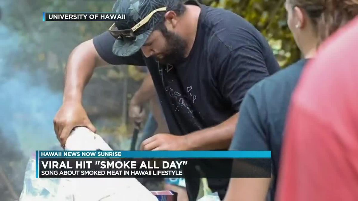 UH Hilo professor creates viral song about 'smoked meat'