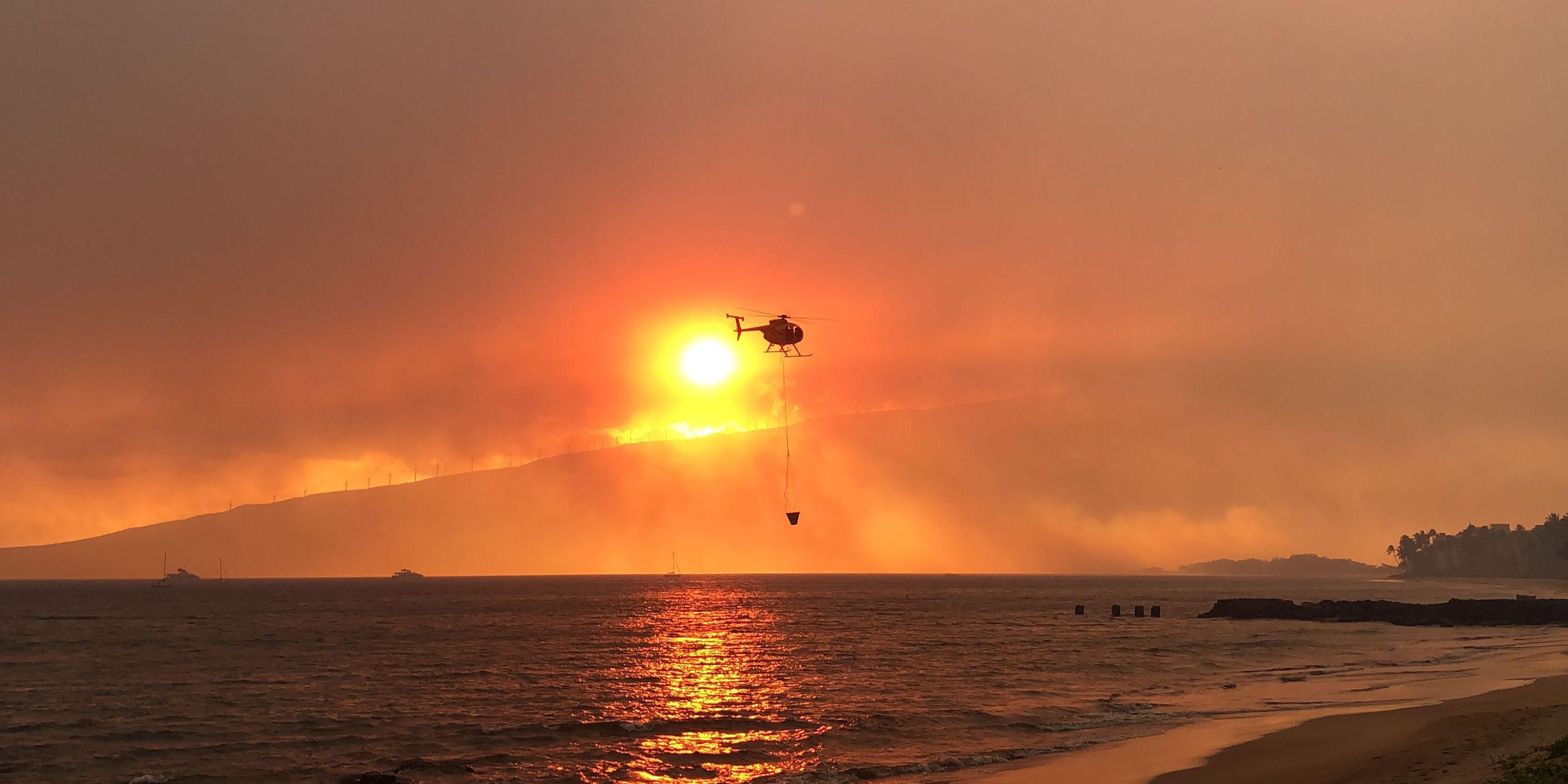 Suspect arrested in Maui arson incident that triggered massive wildfire