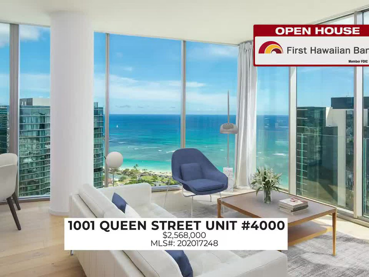 Open House: Corner unit condo in Waikiki and penthouse in Kaka'ako