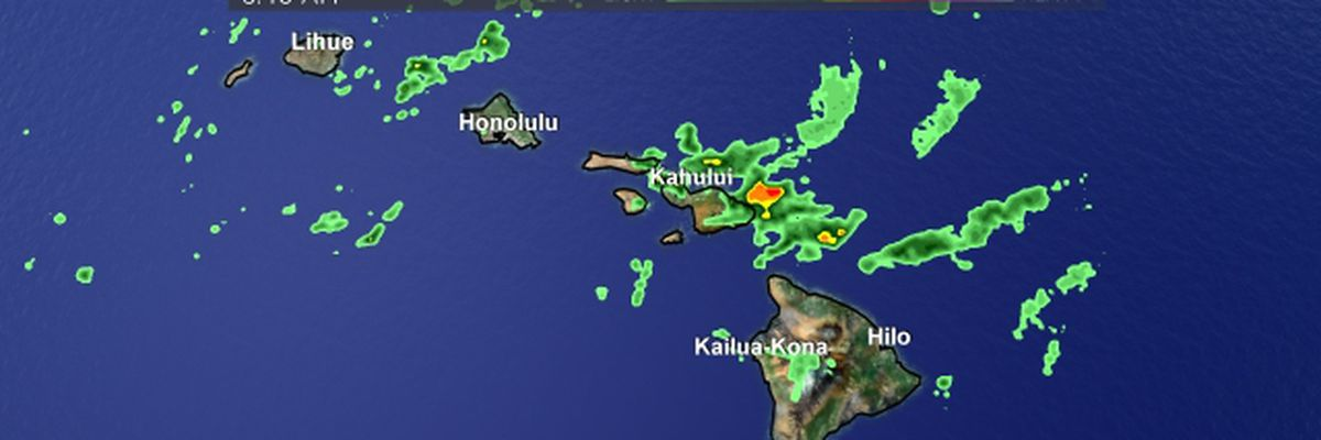 Hawaii under flash flood watch