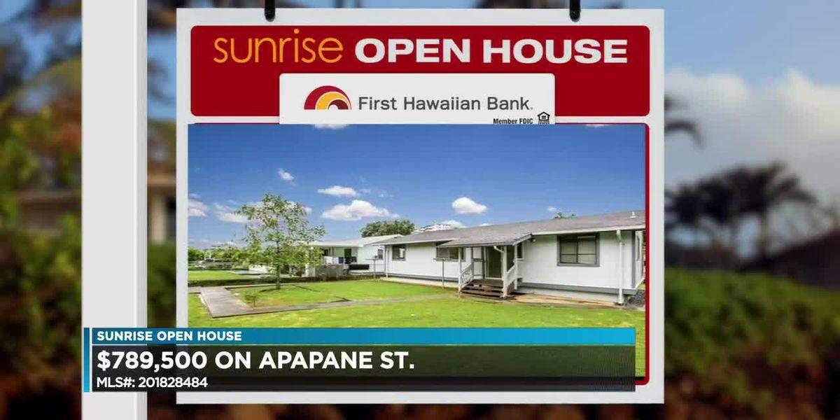 Sunrise Open House: Windward Oahu, Pearl City, Kapolei