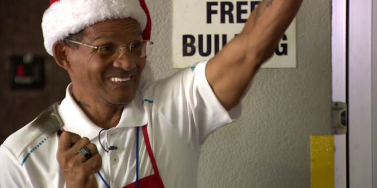 To give back to the organization that saved his life, kettle bell ringer spreads warm tidings of joy