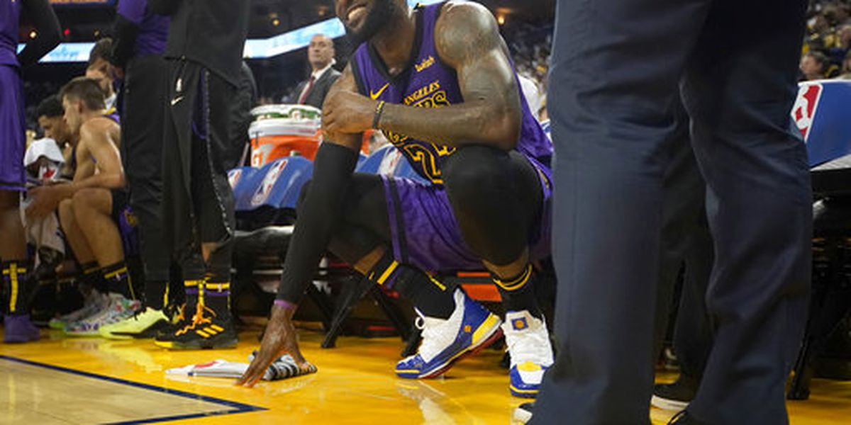 LeBron James To Miss Several Games With Groin Injury