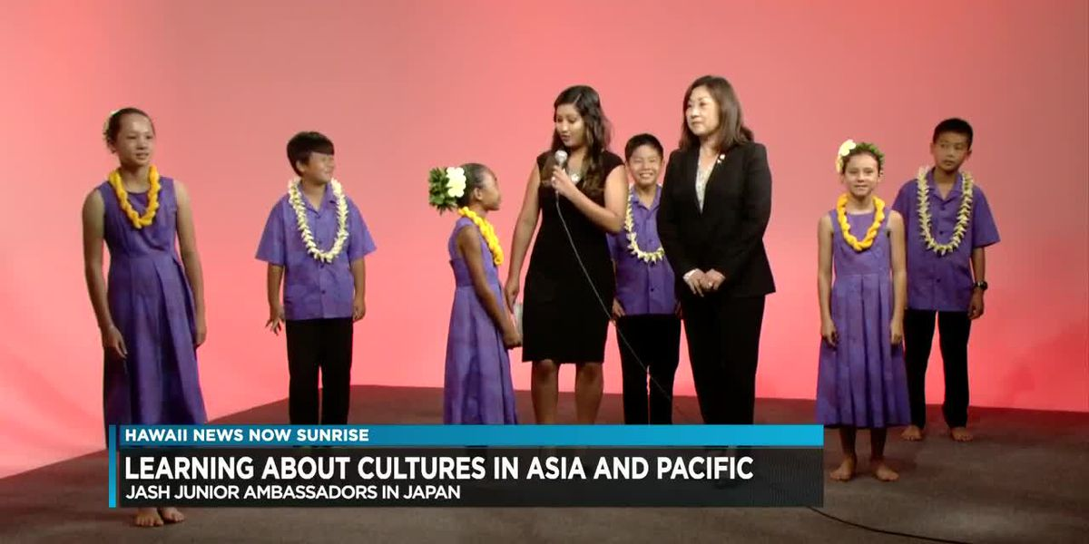 Hawaii keiki heading to Japan as junior ambassadors at Asian Pacific Children's Convention