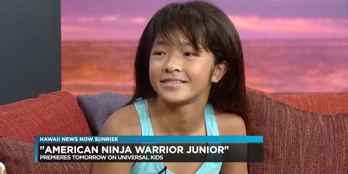Local girl takes on 'American Ninja Warrior Junior' challenge