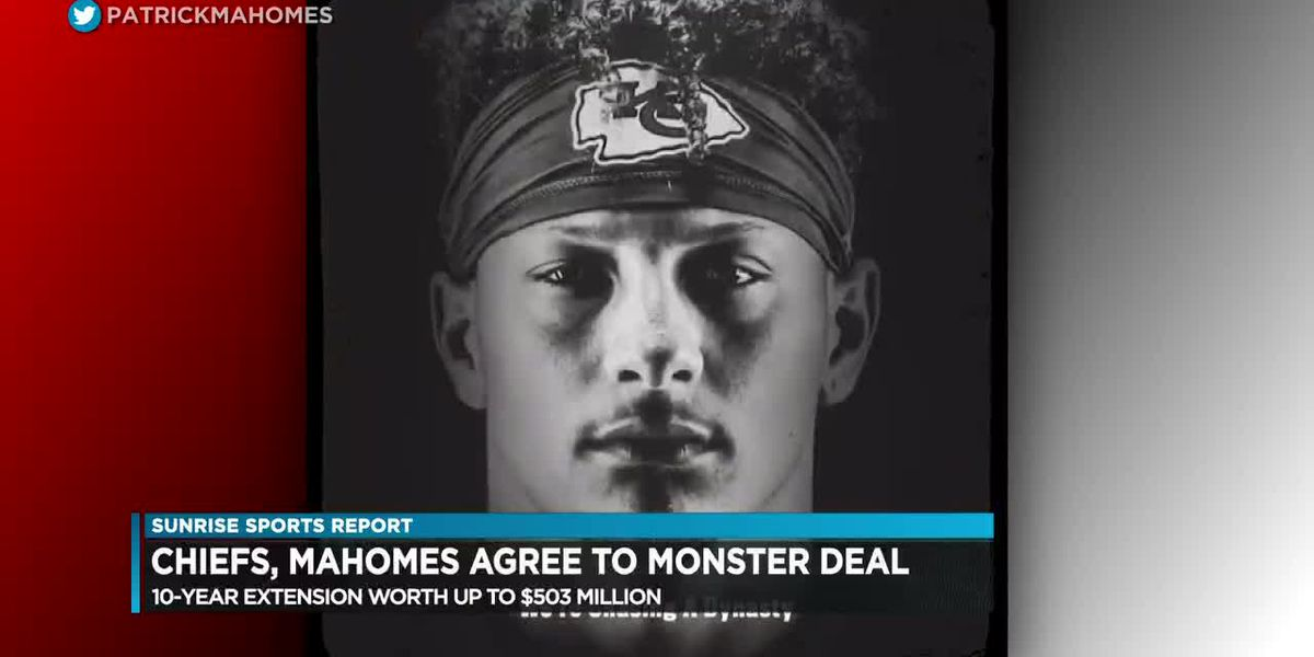 "Sunrise Sports: Mahomes shows priority is legacy, Max promises ""order will be restored"""