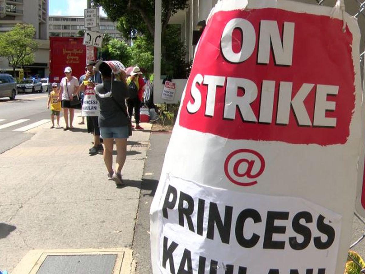 Hotel workers strike could impact a a major convention and charity event