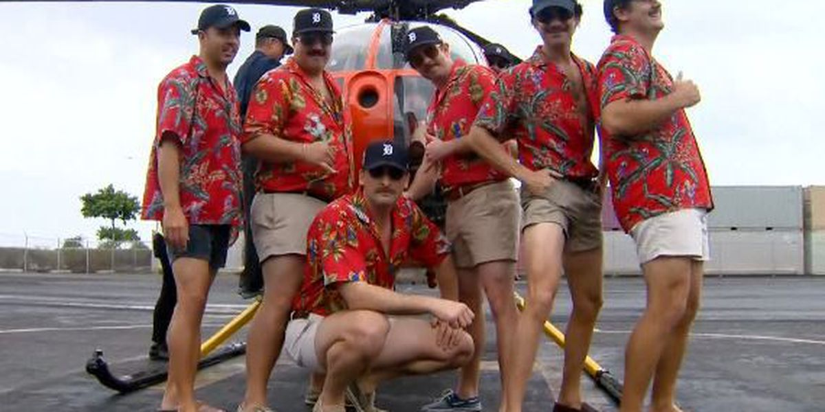 Magnum P.I. fans recreate Tom Selleck look in honor of 'Movember'