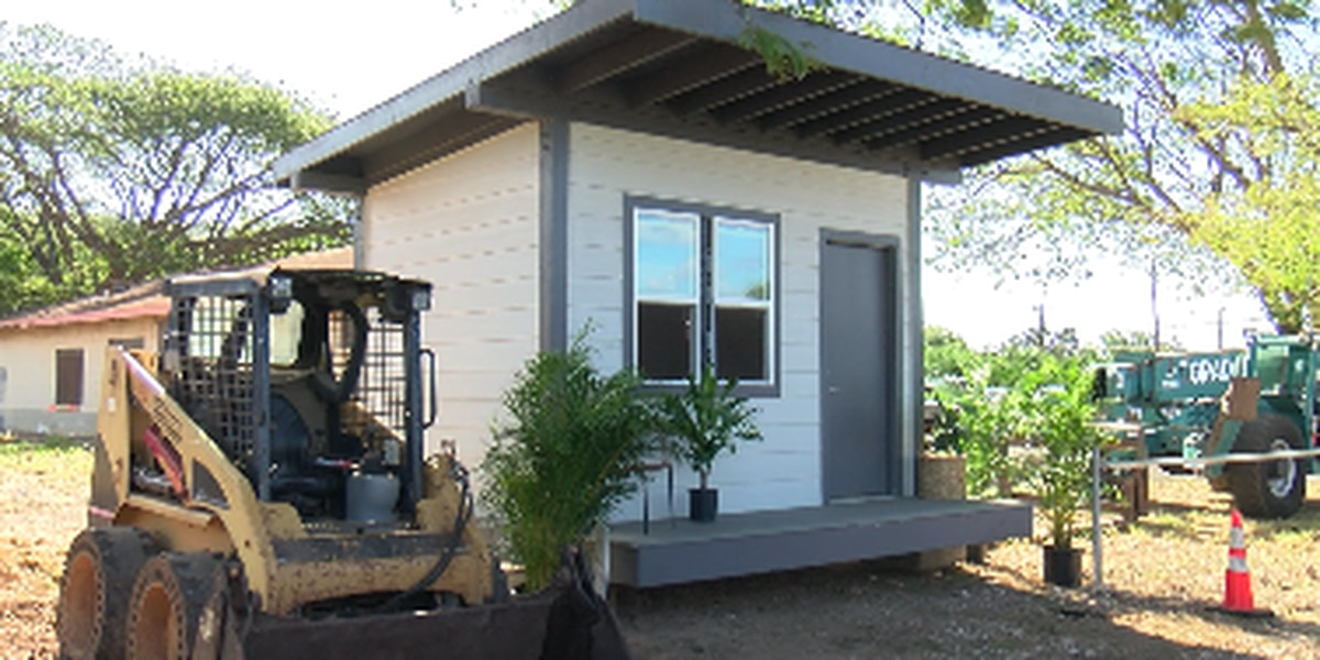 Perseverance prevails as construction on tiny home village for homeless resumes
