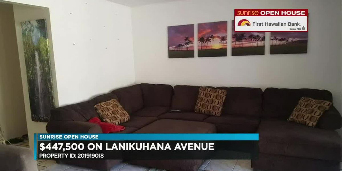 Sunrise Open House: Mililani homes under $600K
