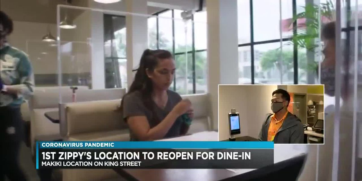 Select Zippy's locations set to allow dine-in services once again