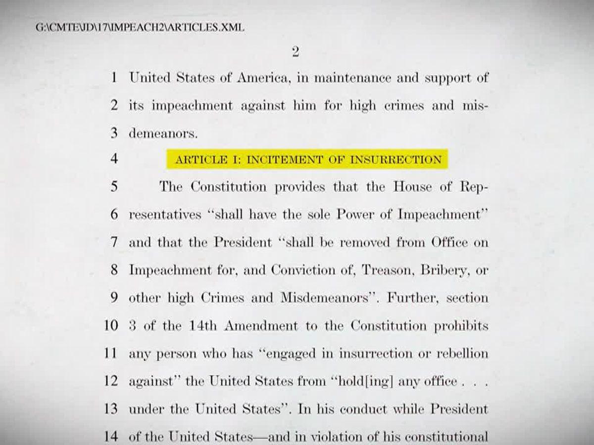 LIVE: Senate readies for Trump's second impeachment trial