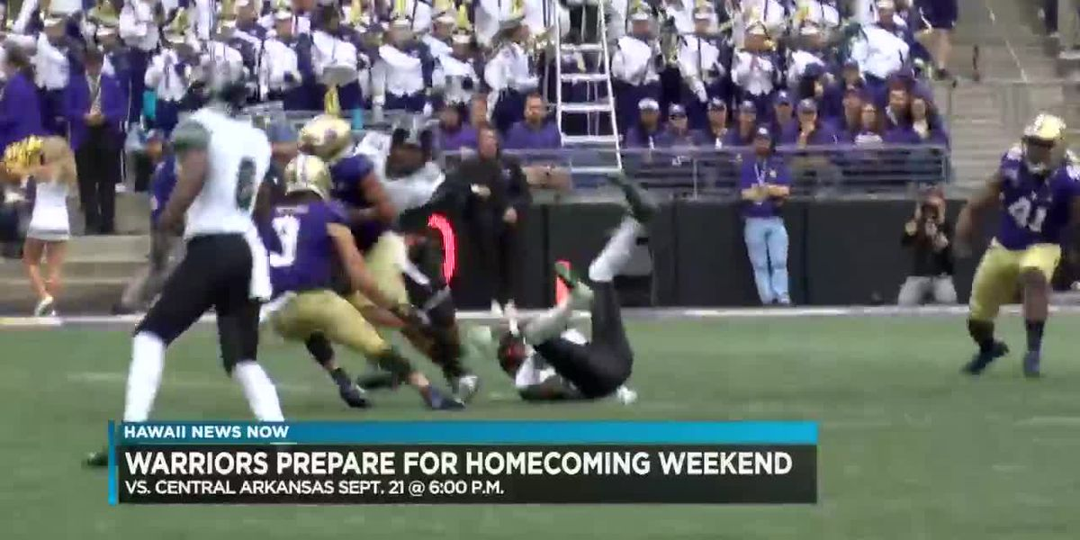 Warriors look to rebound in homecoming battle against Central Arkansas