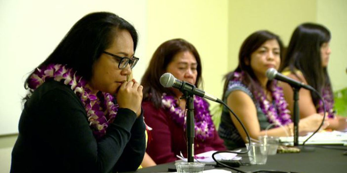 First organized #MeToo in Hawaii discussion hopes to create safe space for women