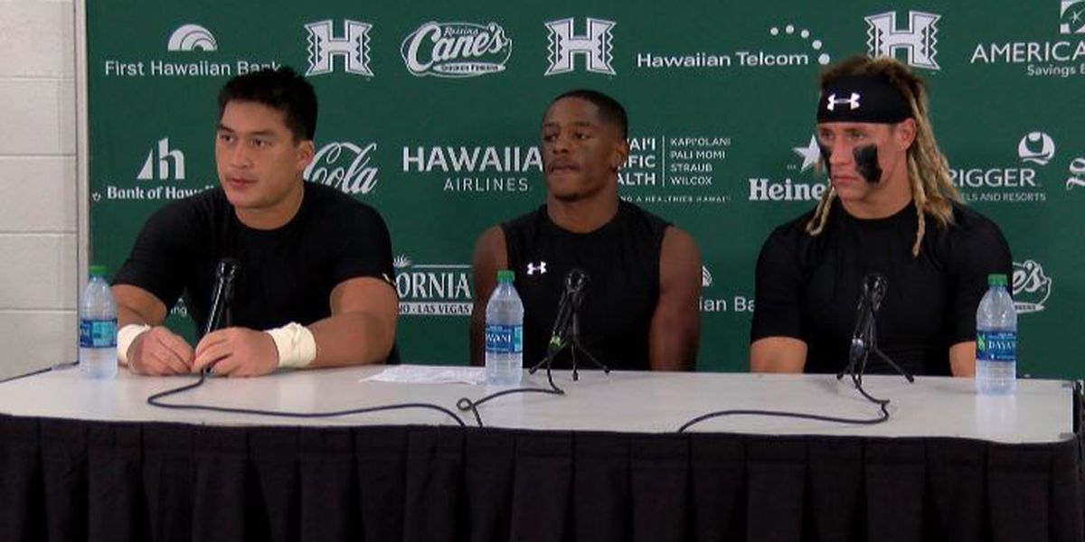 Players address the media following 35-16 win over Central Arkansas on home-coming weekend