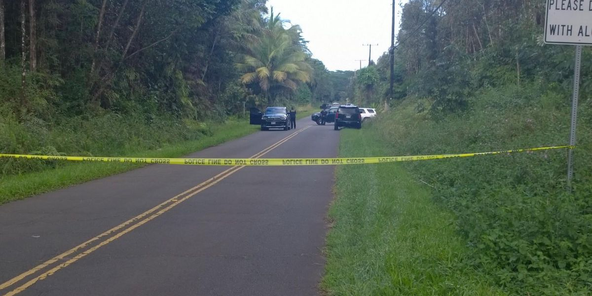 Police standoff continues with armed man in Puna