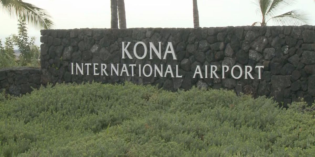 Kona airport to get more than $3M in federal funds for improvements